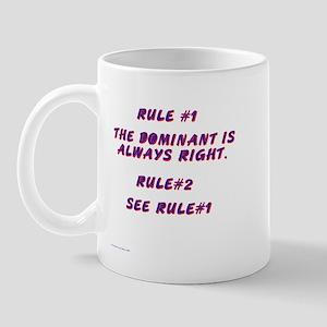 THE RULES! Mug