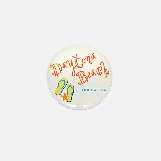 Daytona Beach Mini Button