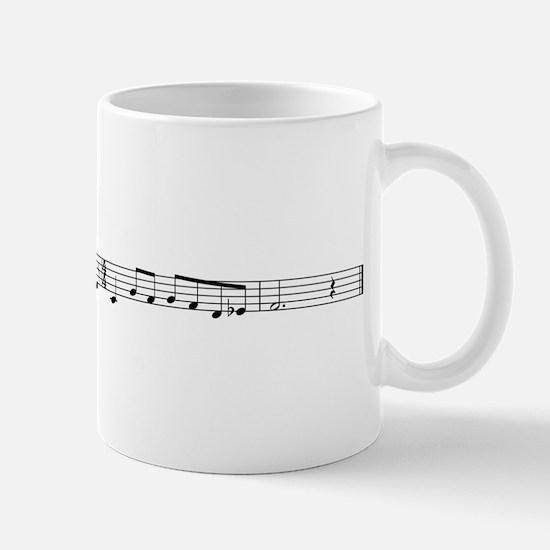 Sheet Music Coffee Mug