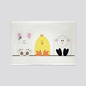 Easter Animal Border Magnets