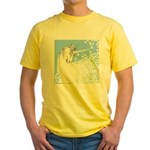 Blue Unicorn Dream Yellow T-Shirt
