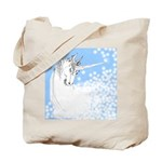 Blue Unicorn Dream Tote Bag