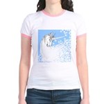 Blue Unicorn Dream Jr. Ringer T-Shirt