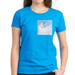 Blue Unicorn Dream Women's Dark T-Shirt