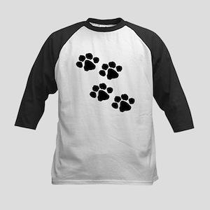 Pet Paw Prints Baseball Jersey