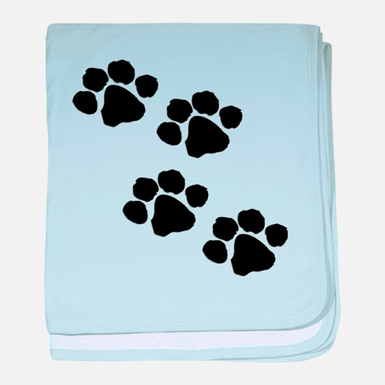 Cute Animals and wildlife baby blanket