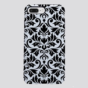 Flourish Damask Lg Ptn Bw Iphone 7 Plus Tough Case