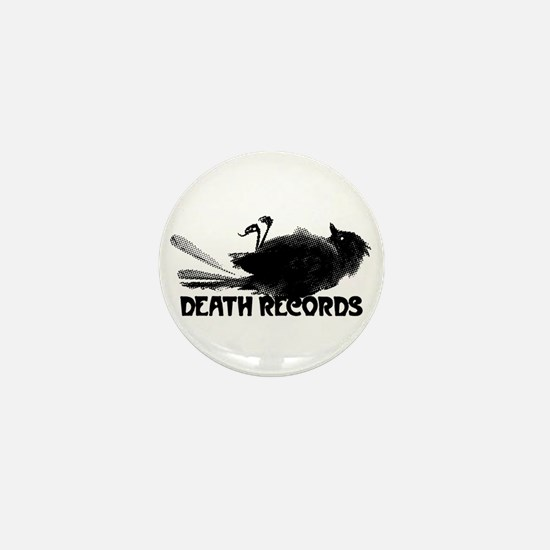 Death Records Logo Revised Mini Button