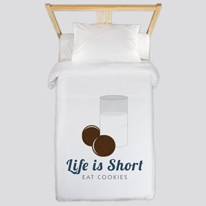 Life is Short Twin Duvet