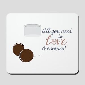 Love & Cookies Mousepad