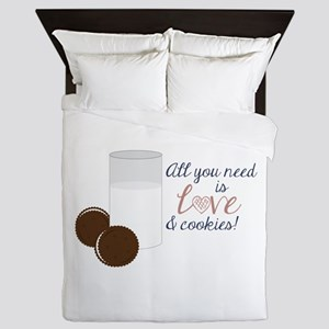 Love & Cookies Queen Duvet