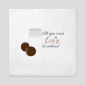 Love & Cookies Queen Duvet