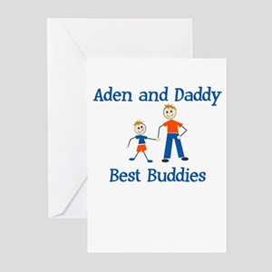 Aden & Daddy - Best Buddies Greeting Cards (Packag
