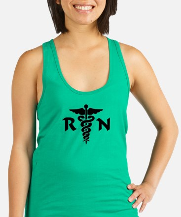 Funny Occupations Racerback Tank Top