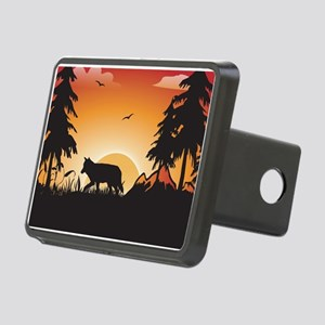 The wolf Hitch Cover