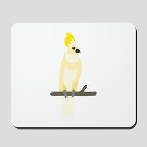 Yellow Cockatoo Mousepad