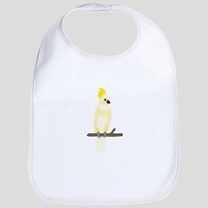 Yellow Cockatoo Bib
