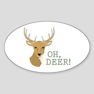 Oh, Deer! Sticker