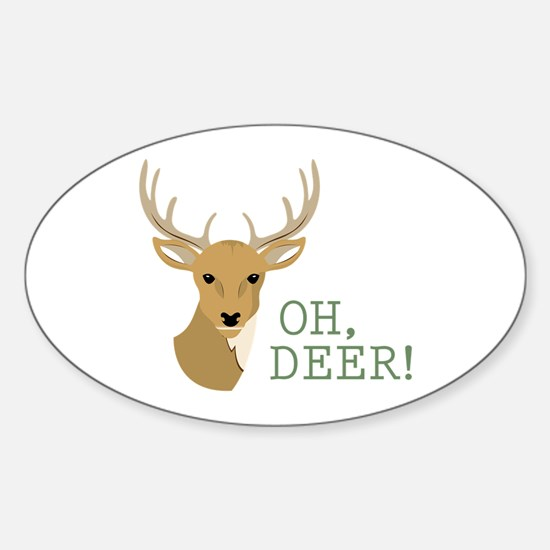 Oh, Deer! Decal