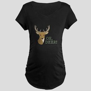 Oh, Deer! Maternity T-Shirt