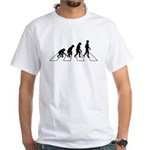 Evolution Road White T-Shirt