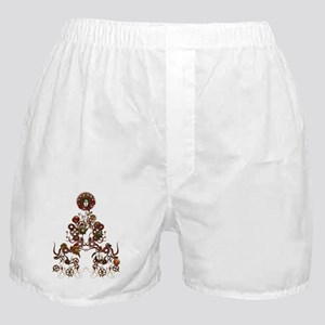 Steampunk Christmas Boxer Shorts