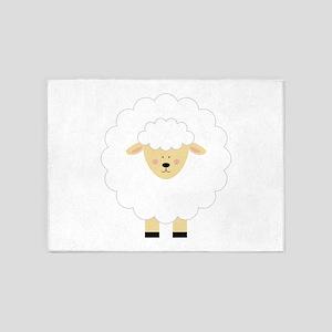 Lamb 5'x7'Area Rug