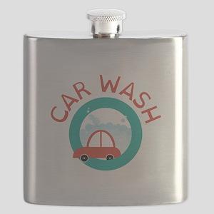 CAR WASH Flask
