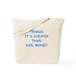 tennis Tote Bag
