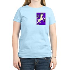 Challenge! Rearing Unicorn Women's Light T-Shirt