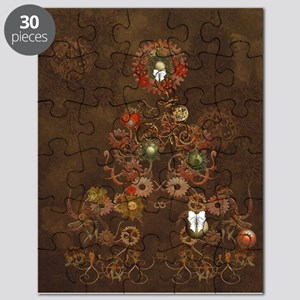 Steampunk Christmas Puzzle