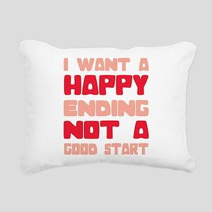 What She Wants Rectangular Canvas Pillow