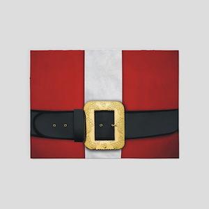 Santa Suit Christmas 5'x7'Area Rug