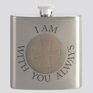 I am With You Always Flask