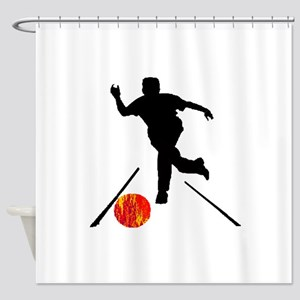STRIKE TONIGHT Shower Curtain
