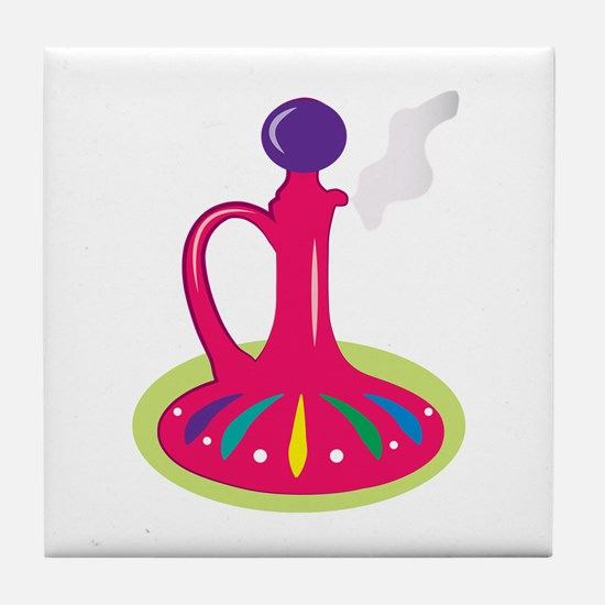 Genie Bottle Tile Coaster