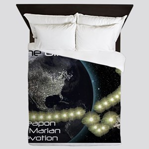 WMD Weapon of Marian Devotion Queen Duvet