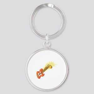 Electric Guitar Musical Instrument Keychains