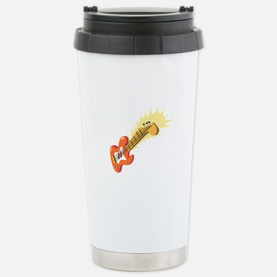 Electric Guitar Musical Instrument Travel Mug