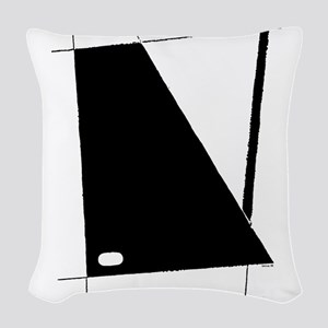 Modern Abstract Woven Throw Pillow