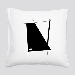 Modern Abstract Square Canvas Pillow