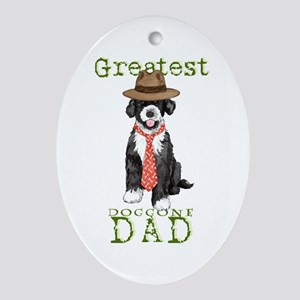 PWD Dad Oval Ornament