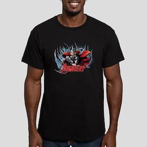 Thunder Thor Men's Fitted T-Shirt (dark)