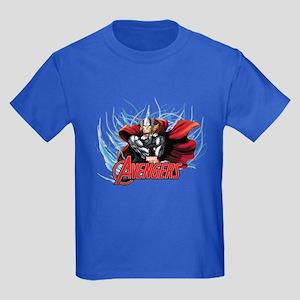 Thunder Thor Kids Dark T-Shirt