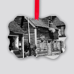Oldest school house Picture Ornament