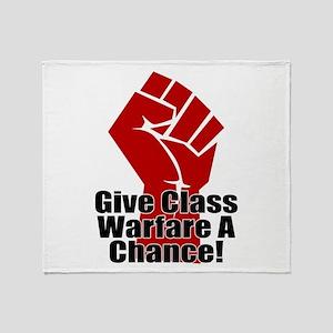 ClassWar Throw Blanket