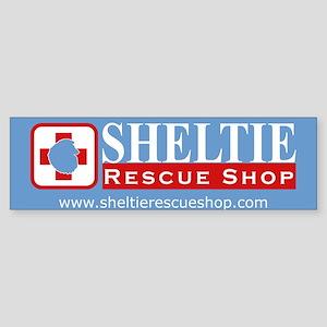 Sheltie Rescue Shop Bumper Sticker