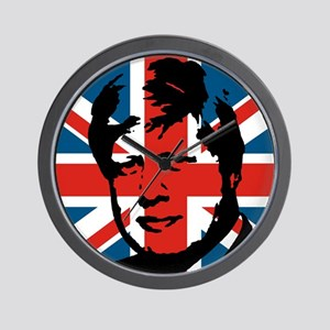 British Boris Wall Clock