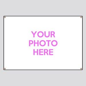 Customize photos Banner