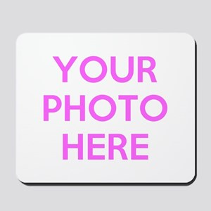Customize photos Mousepad
